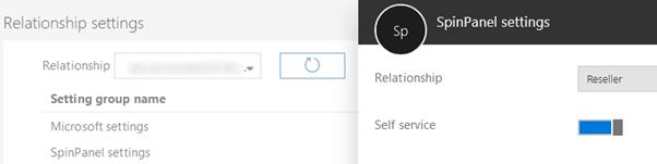 spinpanel selfservice